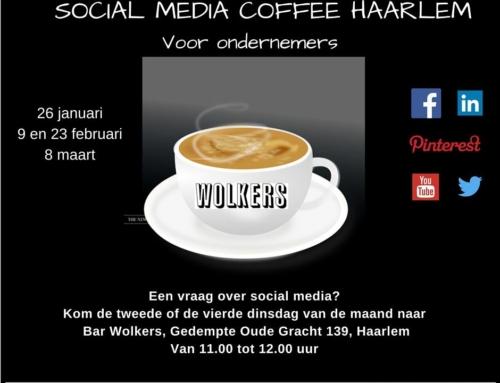 Social Media Coffee Haarlem voor ondernemers bij Bar Wolkers – januari 2016