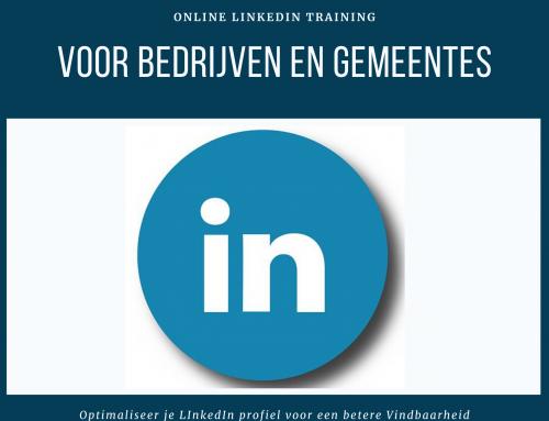 Online LinkedIn Training voor Gemeente Bloemendaal en Gemeente Heemstede