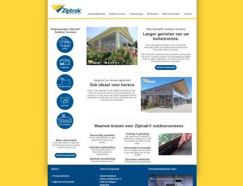 Ziptrak® Nederland – Nieuwe website
